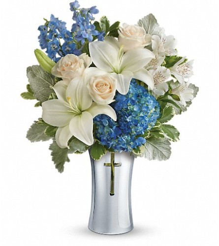 Teleflora's Skies Of Remembrance Bouquet