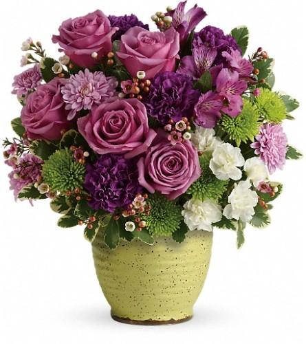 Teleflora's Spring Speckle Bouquet