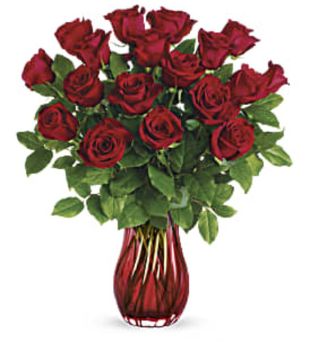 Teleflora's Romantic Twist Bouquet 2021