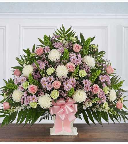 Heartfelt Tribute™ Floor Basket- Pastel XL