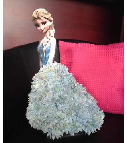 Disney's Elsa - Floral Character