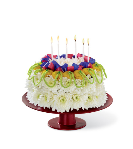 The FTD® Bright Days Ahead™ Floral Cake