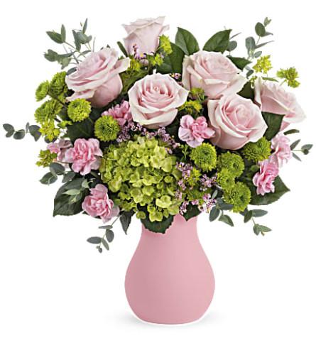 Teleflora's Breezy Pink Bouquet