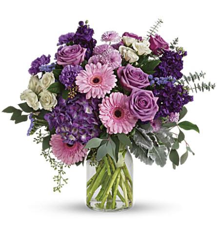 Teleflora's Magnificent Mauves Bouquet