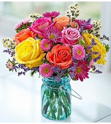 Garden Bouquet™ in a Mason Jar