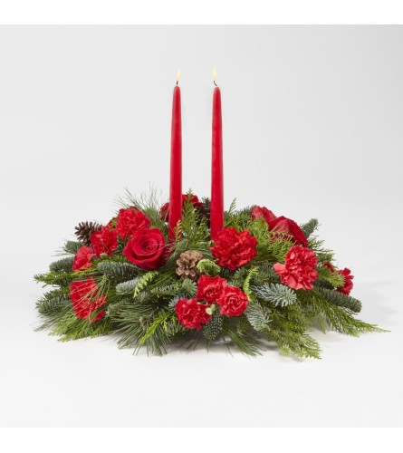 Holiday Classics Centerpiece by FTD