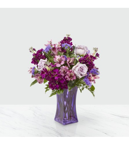 FTD's Purple Presence™ Bouquet