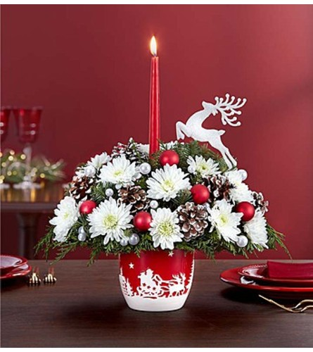 Santa's Sleigh Ride™ Centerpiece