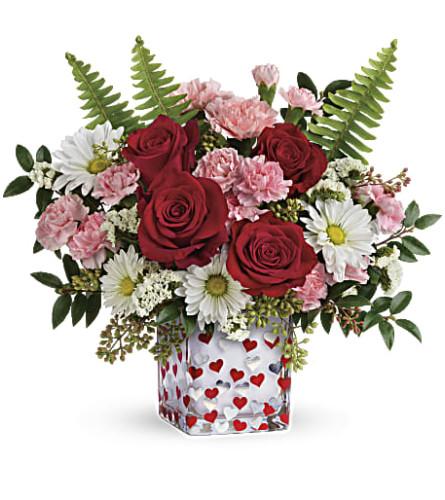 Teleflora's Pop Hearts Bouquet