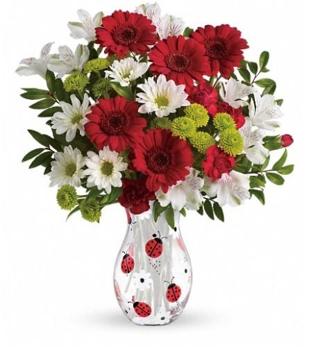Teleflora's Lovely Ladybug Bouquet