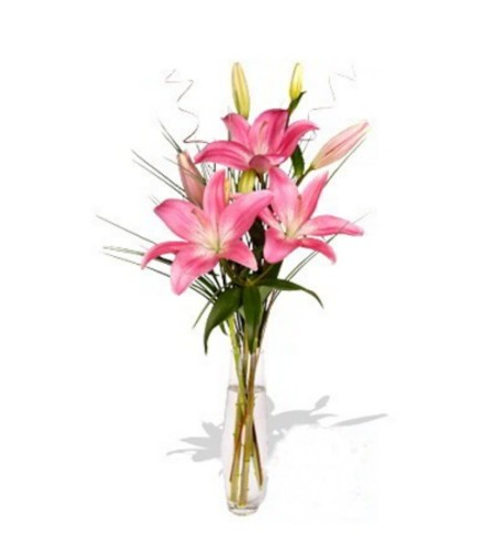 The La Tada Lily Bouquet