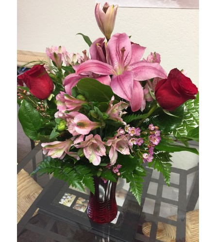 Princess Roses and Lilies