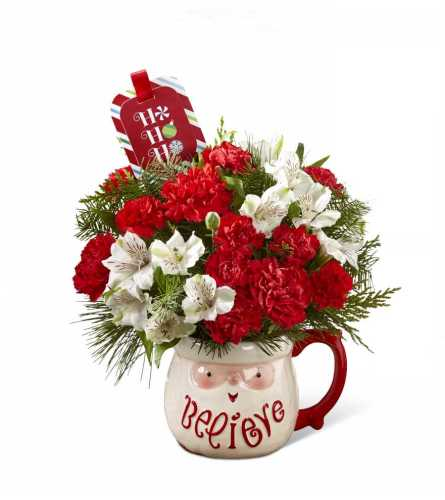 The FTD® Believe™ Mug Bouquet by Hallmark 2016