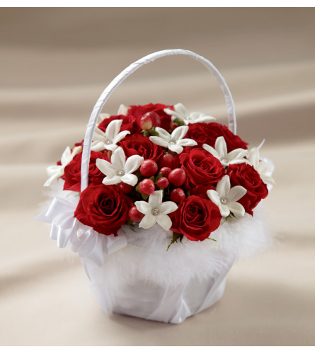 The FTD® Baby Love™ Flower Girl Basket