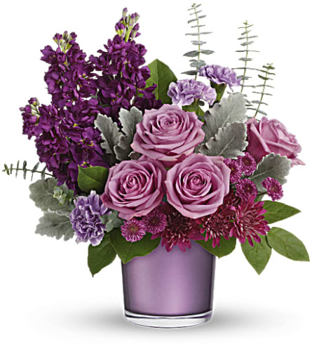 Teleflora's Always Amethyst Bouquet