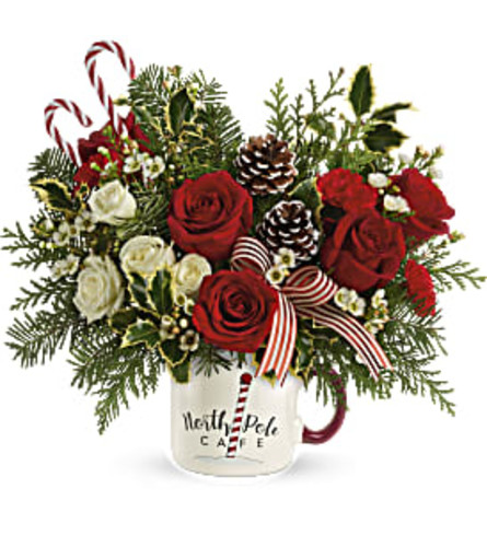 Send a Hug Cozy Holiday Mug by Teleflora 2020