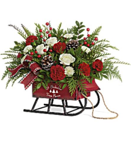 Teleflora's Sleigh Bells Bouquet 2020
