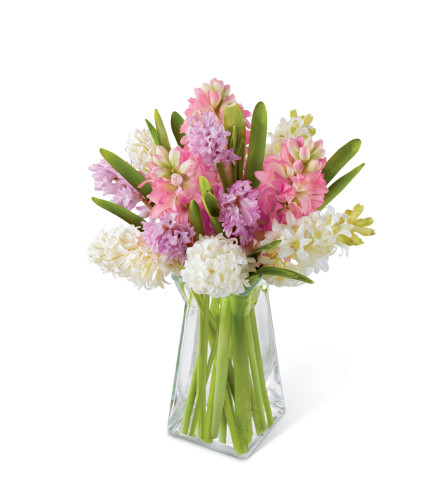 The FTD® Pure Perfection™ Hyacinth Bouquet
