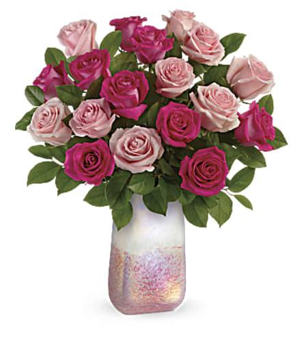 Teleflora's Rose Quartz Kisses Bouquet