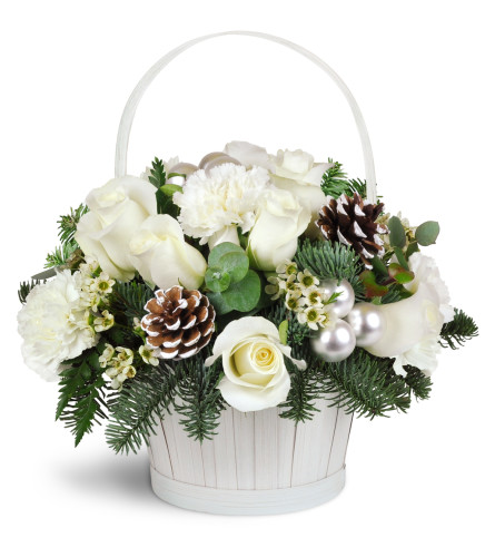 Silver Kisses™ Basket