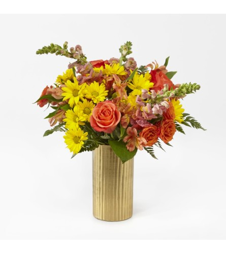 You're Special Bouquet in a Gold Vase