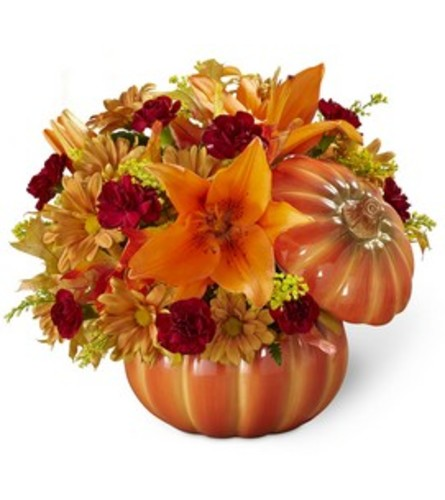SALE Bountiful pumpkin