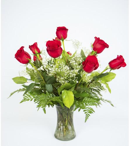 Grand Florist's Simple Rose Vase