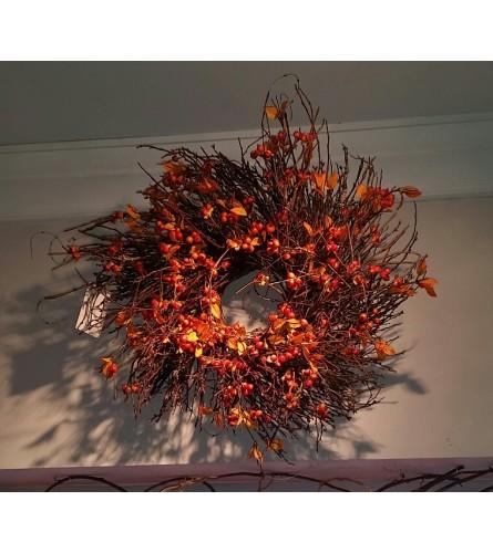 Berry Autumn Wreath