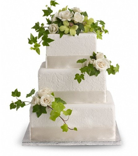 Roses and Ivy Cake Decoration