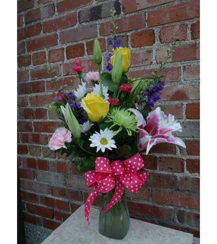 A Spring Mix Bouquet