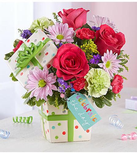 Happy Birthday Present Bouquet - 2018