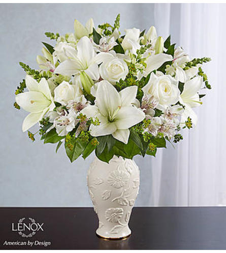 Loving Blooms™ in Lenox® All White