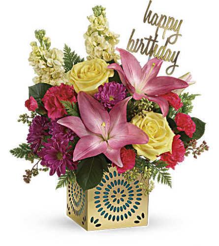 Teleflora's Blooming Birthday Bouquet