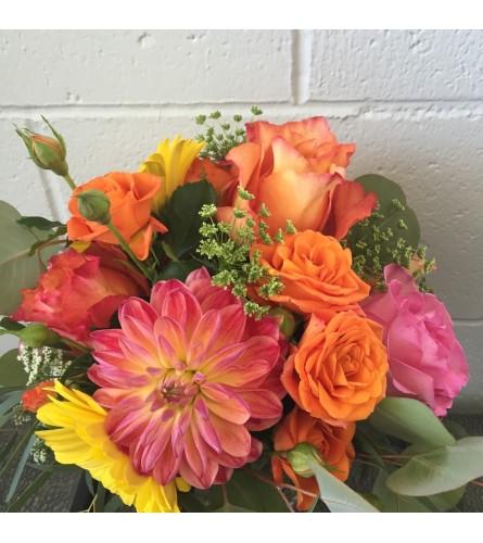 Vibrant Summer Blooms Arrangement