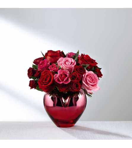 The FTD® Hold Me in Your Heart™ Rose Bouquet 2017