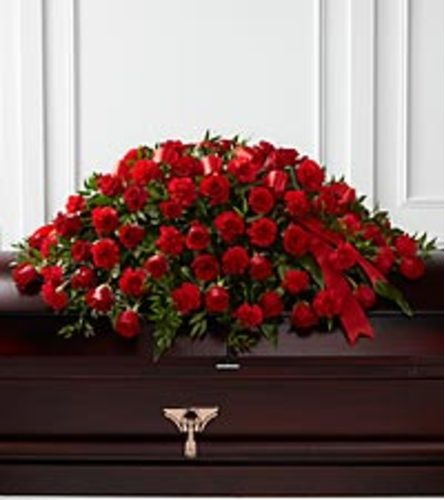 Dearly Cared For Casket Spray