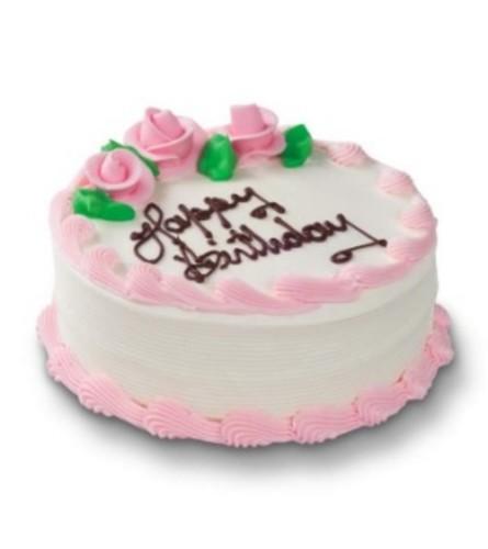 Real Edible Chocolate Birthday Cake -