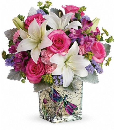 Teleflora's Garden Poetry Bouquet