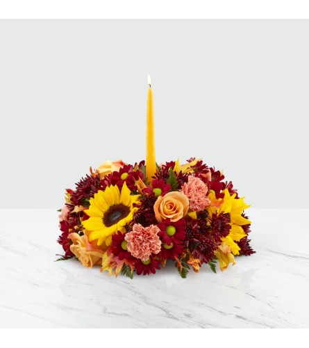 FTD's Giving Thanks Candle ™Centerpiece