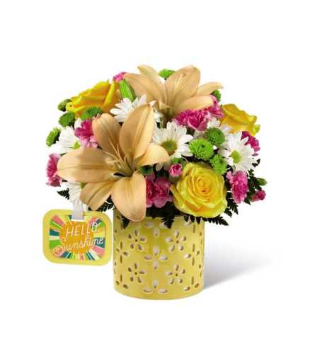 The FTD® Brighter Than Bright™ Bouquet by Hallmark 2017