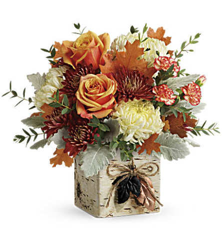 Teleflora's Fall In Bloom Bouquet