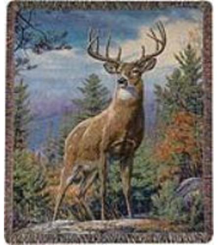 Memorial Throw Deer
