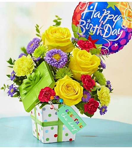 """""""Celebrate the Day"""" Bouquet - Deluxe"""