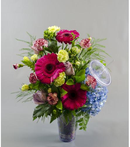 Sips' N Blooms