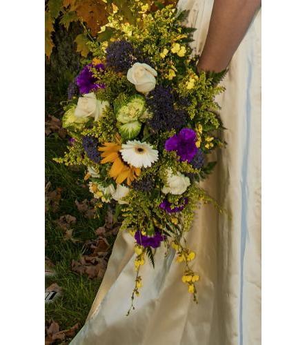 Garden Cascade Bouquet