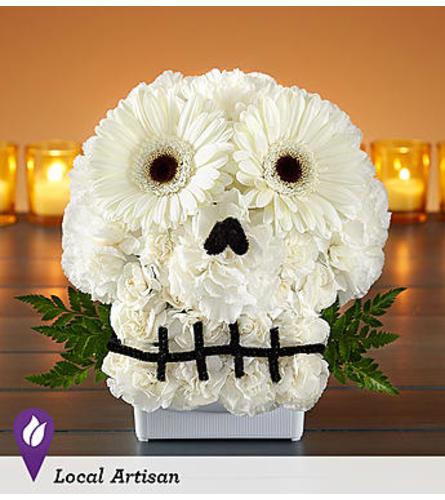 Spooky Skull Flower Arrangement™