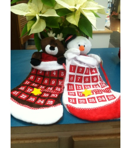 Countdown Christmas Stocking