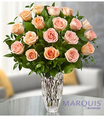 Marquis by Waterford® Peach Roses