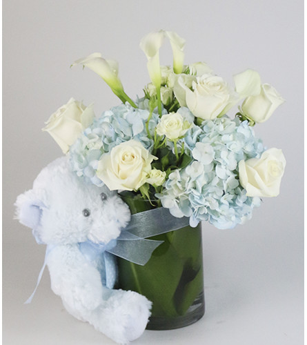 Little Blue Bear Arrangement