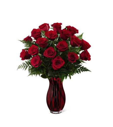 The FTD® In Love with Red Roses™ Bouquet 2015